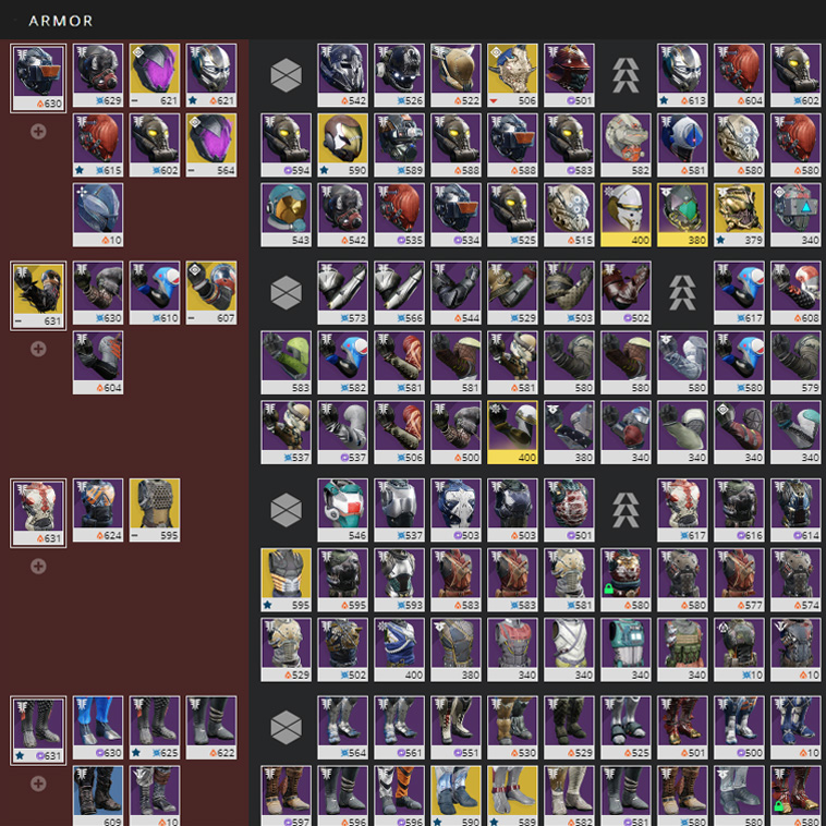 Destiny Item Manager